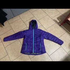 Women's Columbia Down Hooded Jacket